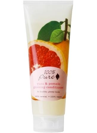 Balsam de par pentru stralucire cu yuzu si pomelo - 100 Percent Pure Cosmetics