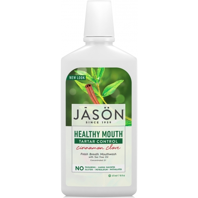 Apa de gura naturala Healthy Mouth, pentru gingiile iritate - Jason