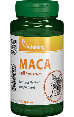 Maca 500mg, 90 capsule vegetale - Vitaking
