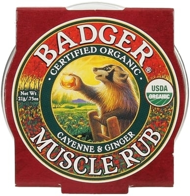 Mini balsam masaj dureri musculare Muscle Rub, 21g - Badger