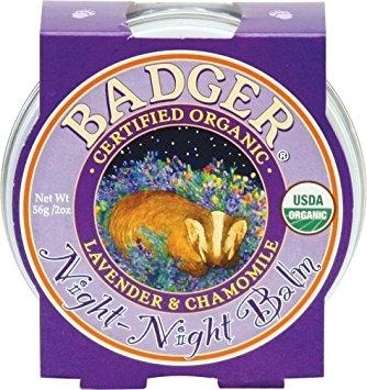 Mini balsam pentru somn linistit Night-Night Baby, 21g - Badger