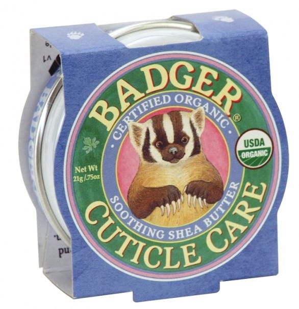 Mini balsam pentru unghii si cuticule Cuticle Care, 21g - Badger