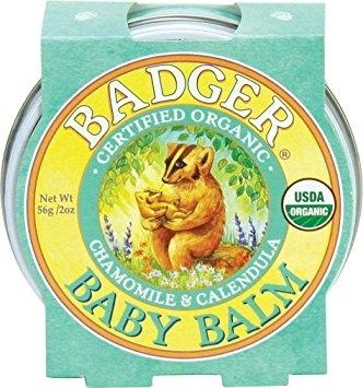 Mini balsam pentru bebelusi Baby Balm, 21g - Badger
