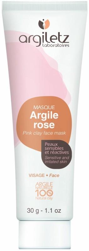 Masca din argila roz pentru ten sensibil, travel size 30g - Argiletz