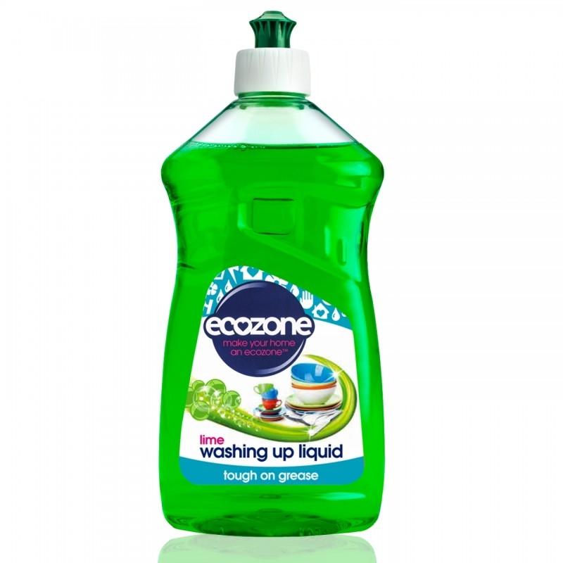 Detergent concentrat de vase cu lime, 500 ml - ECOZONE
