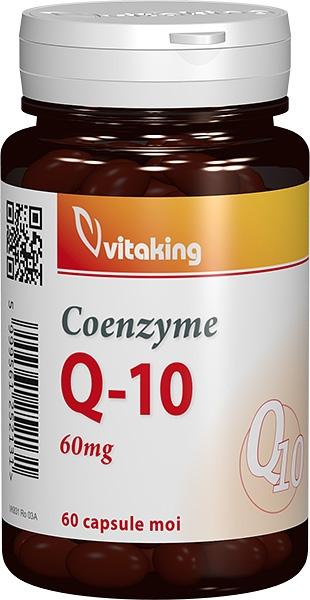 Coenzima Q10 naturala 60mg, 60 cps - Vitaking