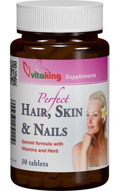 Supliment cu MSM pentru par, piele si unghii, 30 comprimate - Vitaking