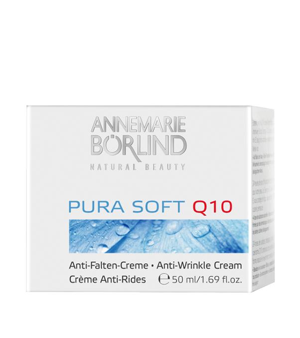 Pura Soft Crema antirid cu coenzima Q10, 50 ml - Annemarie Borlind
