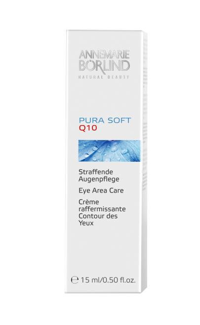 Pura Soft Crema antirid pentru ochi cu coenzima Q10, 15ml - Annemarie Borlind