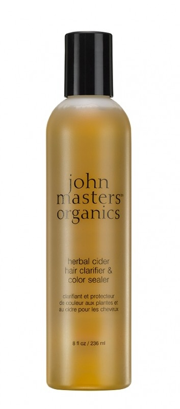 Agent de limpezire si fixator de culoare cu cidru, 236 ml - John Masters Organics