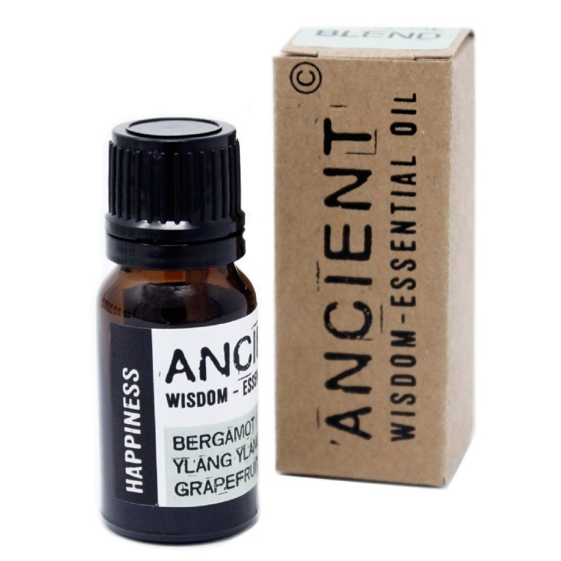 Amestec de uleiuri esentiale Happiness (bergamot, ylang ylang, grapefruit) 10ml - Ancient Wisdom Premium
