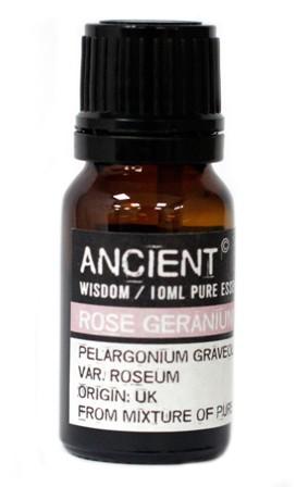 Amestec uleiuri esentiale naturale Rose Geranium, 10ml - Ancient Wisdom