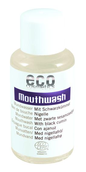 Apa de gura bio concentrata, cu salvie si chimen negru - Eco Cosmetics