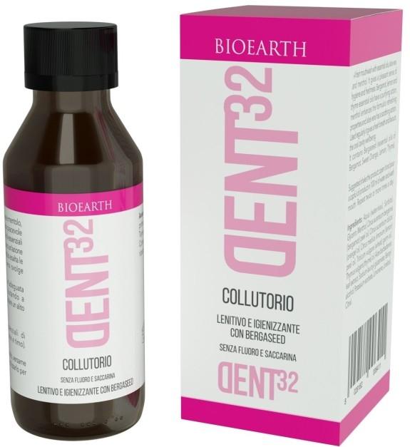 Apa de gura concentrata Dent32, cu bergamota - Bioearth