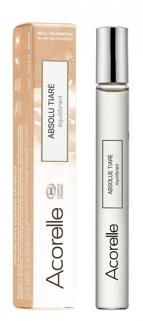 Apa de parfum bio Absolu Tiare, roll-on 10 ml - Acorelle