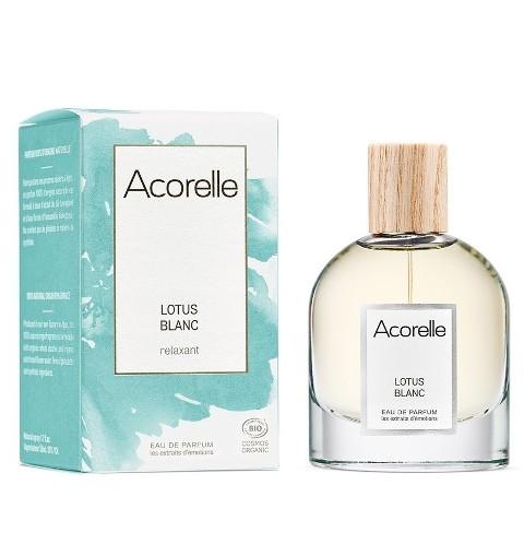 Apa de parfum bio Lotus Blanc, 50 ml - Acorelle