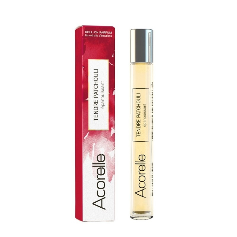 Apa de parfum bio Tendre Patchouli, roll-on 10 ml - Acorelle