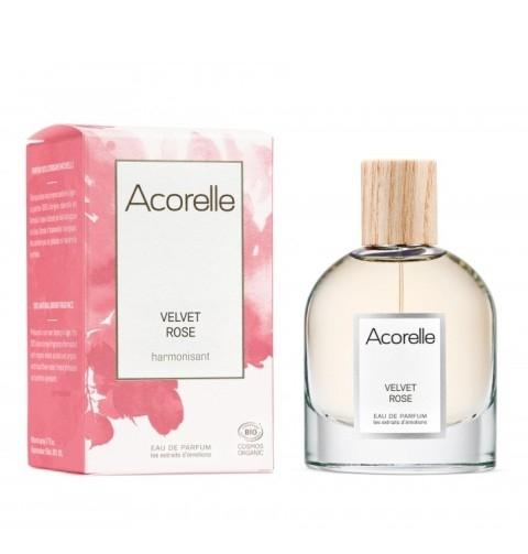 Apa de parfum bio Velvet Rose, 50 ml - Acorelle