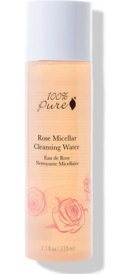 Apa micelara cu trandafiri, 210ml - 100 Percent Pure Cosmetics