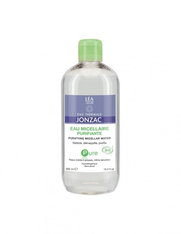 Apa micelara purifianta hipoalergenica, ten sensibil mixt si gras, Pure 500ml - JONZAC