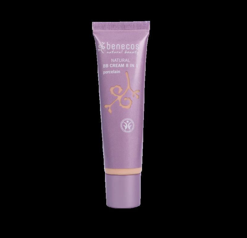 BB Cream bio 8-in-1, Porcelain (ten deschis) - Benecos