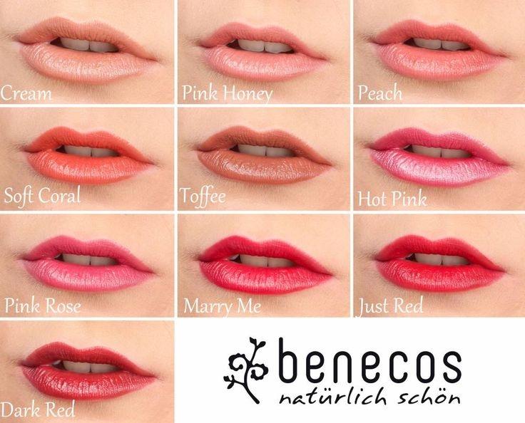Ruj de buze bio Pink Rose - Benecos
