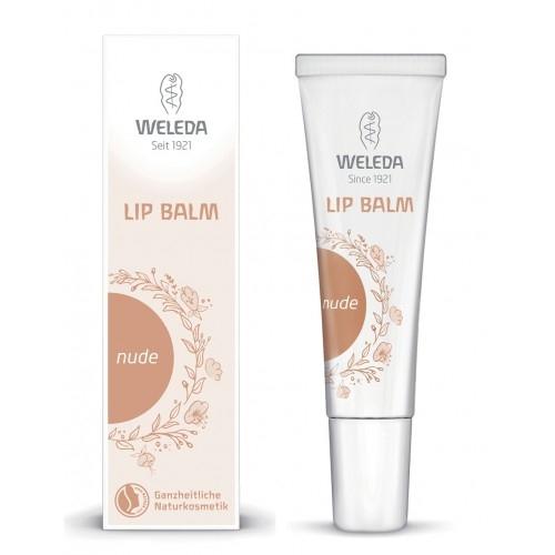 Balsam de buze-crema nuantat Nude, 10 ml - Weleda