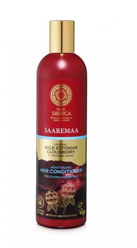 Balsam hidratant pentru par uscat si vopsit cu mur salbatic Saaremaa, 400 ml - Natura Siberica