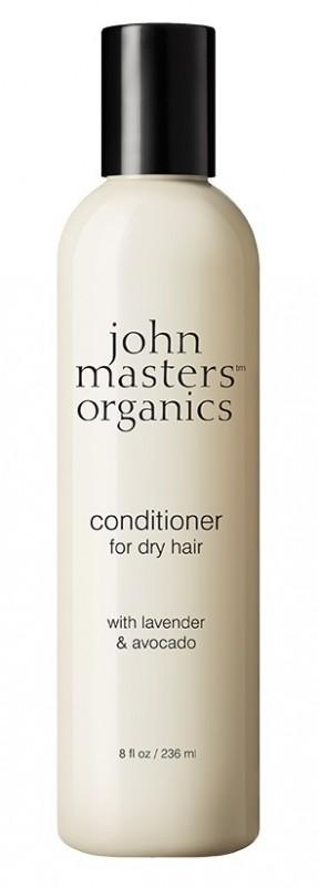 Balsam de par intensiv Lavanda & Avocado, 236 ml - John Masters Organics