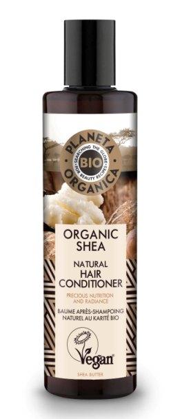 Balsam de par nutritiv cu unt de shea, 280ml - Planeta Organica