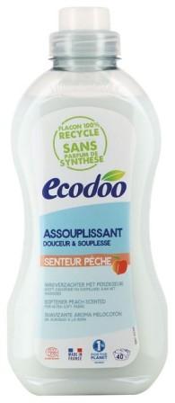 Balsam de rufe bio cu aroma de piersici, 1L - Ecodoo