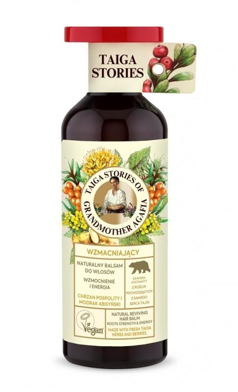 Balsam pentru intarirea radacinilor cu ulei din seminte de mustar, 500ml - Taiga Stories
