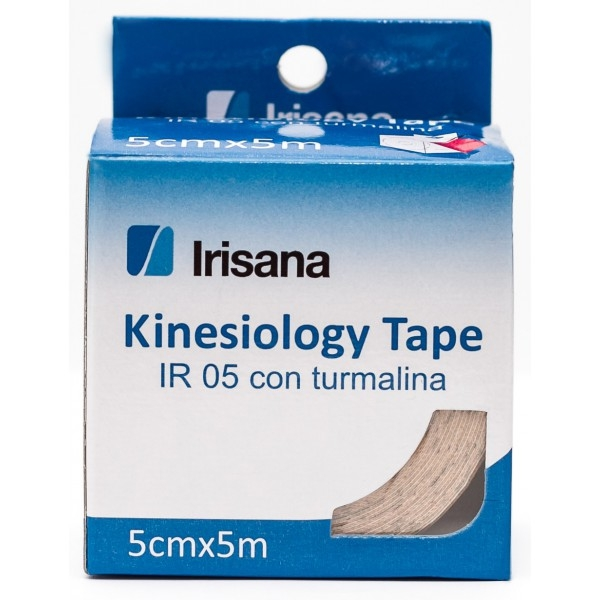 Bandaj elastic adeziv cu turmalina, rola 5m - Irisana