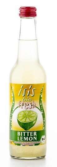 Bautura racoritoare Isis bio frizzante Bitter Lemon, 330ml - Beutelsbacher