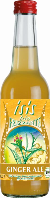 Bautura racoritoare Isis bio frizzante Ginger Ale, 330ml - Beutelsbacher