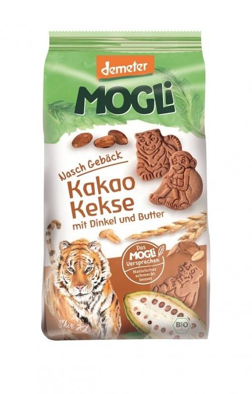 Biscuiti bio cu cacao Tigru, 125g - Mogli