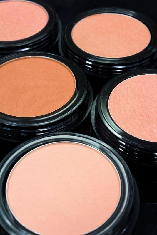 Fard de obraz organic din petale de flori, Peach - ZUII Organic