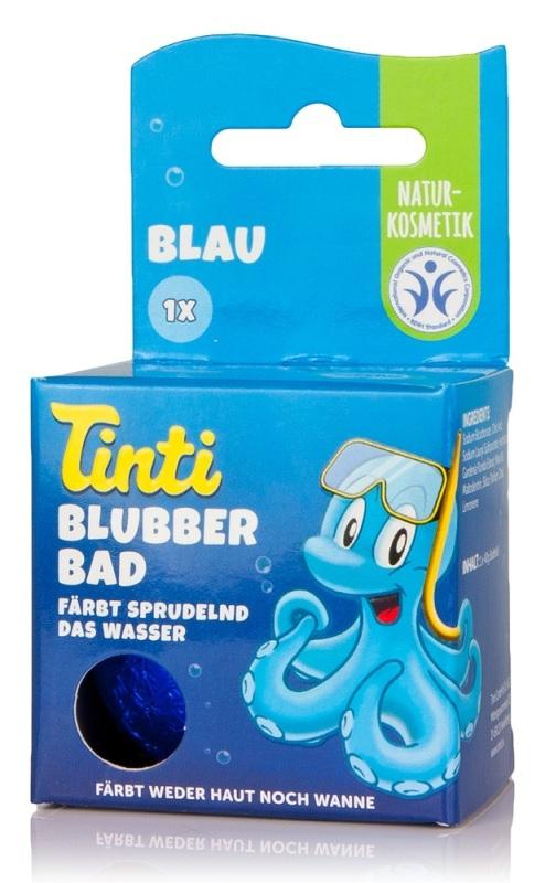 Bomba de baie coloranta pentru baia copiilor, Albastru - Tinti