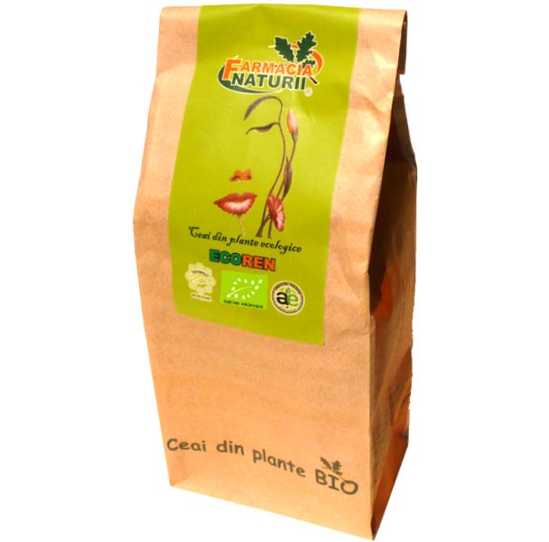 Ceai din plante ecologice pentru afectiuni renale Ecoren, 50g - Farmacia Naturii