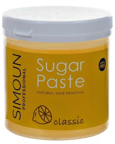 Ceara depilatoare naturala de zahar, 1 kg - Simoun