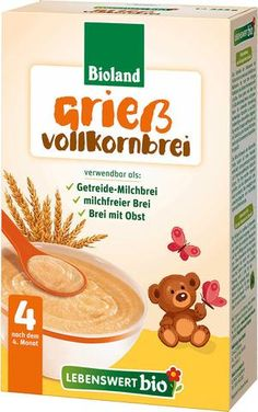 Cereale bebe din gris BIO, +4 luni, 225g - Lebenswert