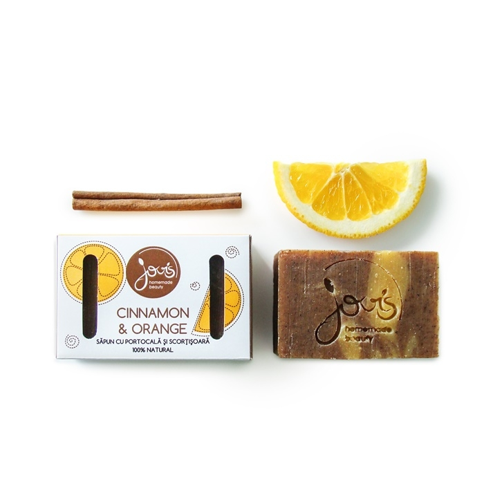 Sapun natural Cinnamon and Orange - Jovis Homemade Beauty