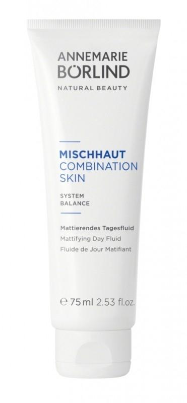 Combination Skin Fluid de zi pentru ten mixt, 75ml - Annemarie Borlind