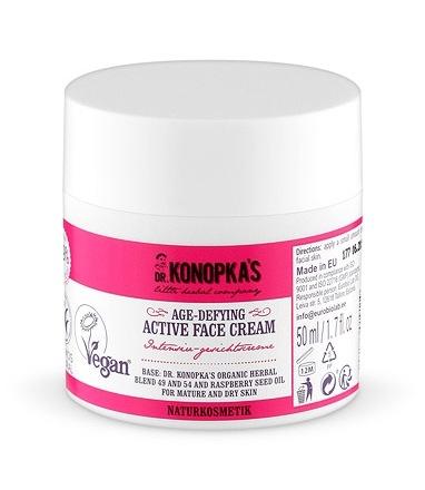 Crema activa anti-rid pentru ten matur si uscat, 50 ml - Dr. Konopka