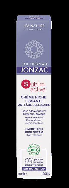Crema antirid bio pentru ten uscat, Sublimactive - JONZAC