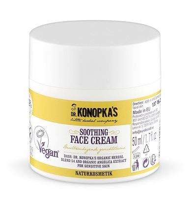 Crema de fata anti-iritatii pentru ten sensibil, 50 ml - Dr. Konopka