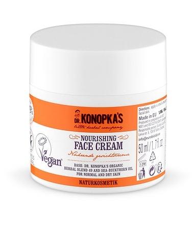 Crema de fata nutritiva pentru ten normal sau uscat, 50 ml - Dr. Konopka