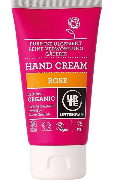 Crema de maini hidratanta cu trandafir, 75 ml - URTEKRAM