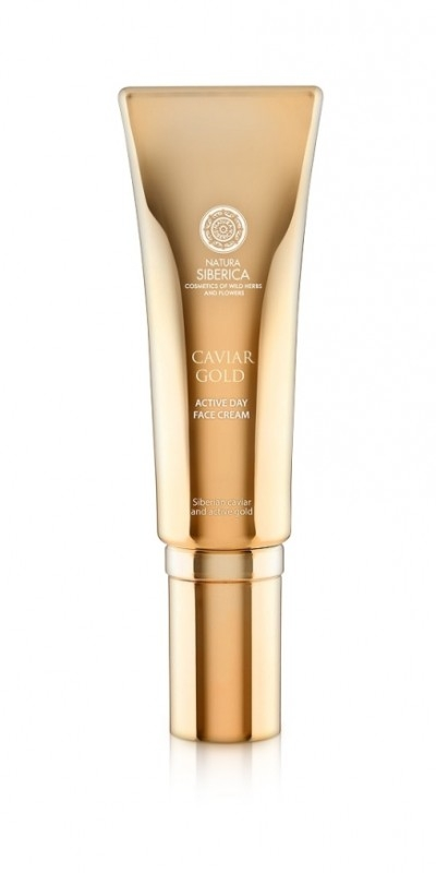 Crema de zi activa antiage Youth Injection cu aur si caviar, Caviar Gold, 30 ml - Natura Siberica