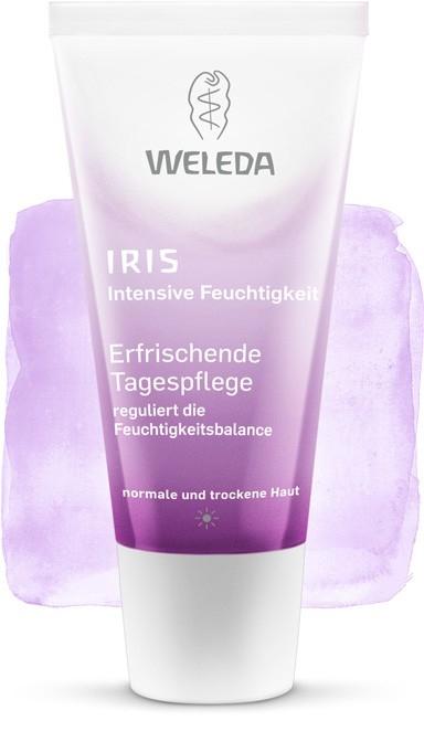 Crema de zi cu iris pentru ten normal sau uscat, 30 ml - Weleda